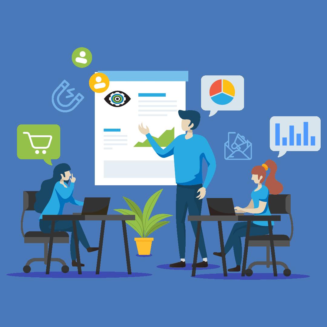 Bold Eye Media website WordPress design strategy session icon