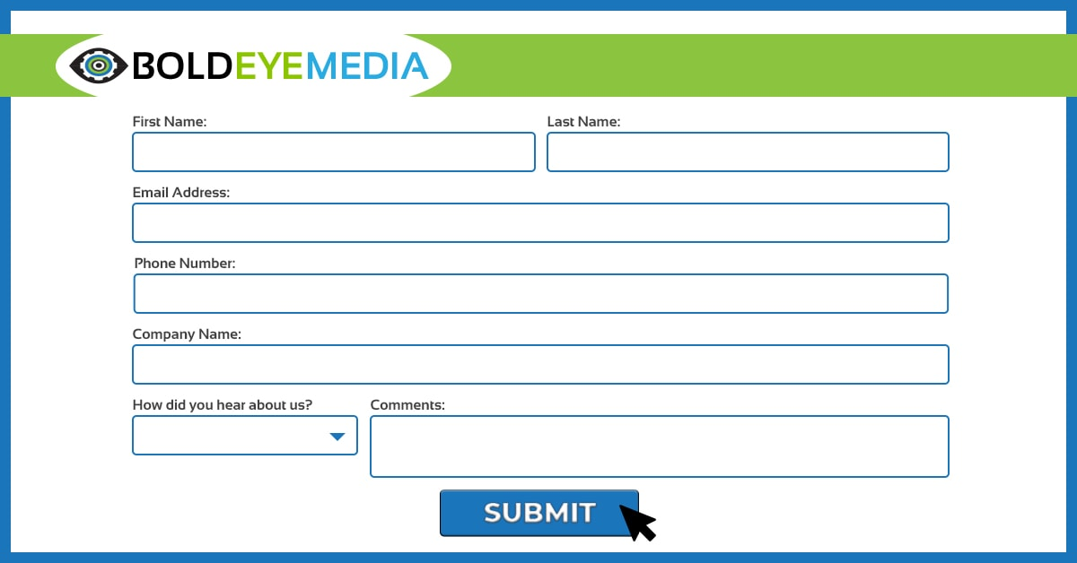 Use Website Forms To Qualify Leads
